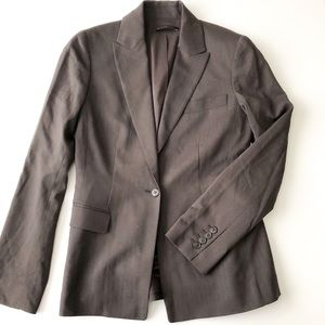 Elie Tahari brown blazer